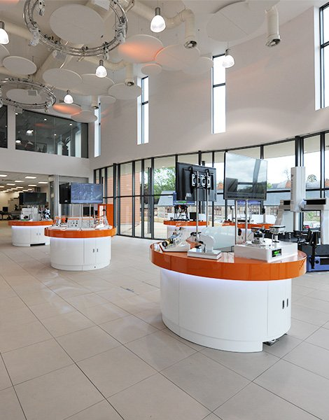 air conditioning system at Renishaw