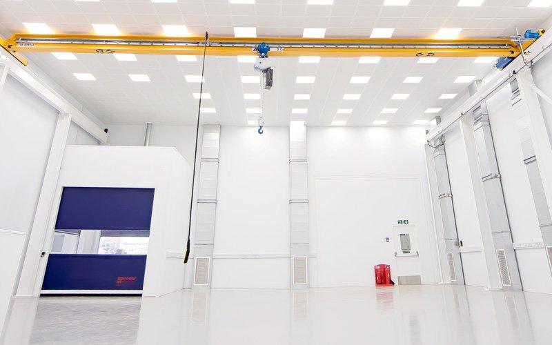 large close control room at Trescal