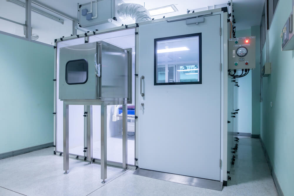 modular cleanroom in healthcare
