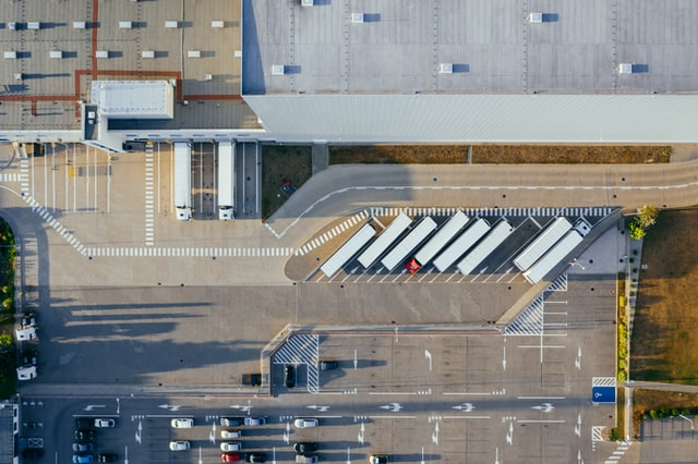 warehouse look from above