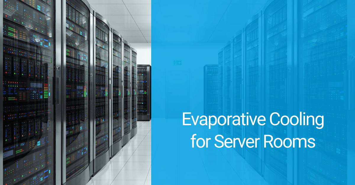 evaporative cooling for server rooms